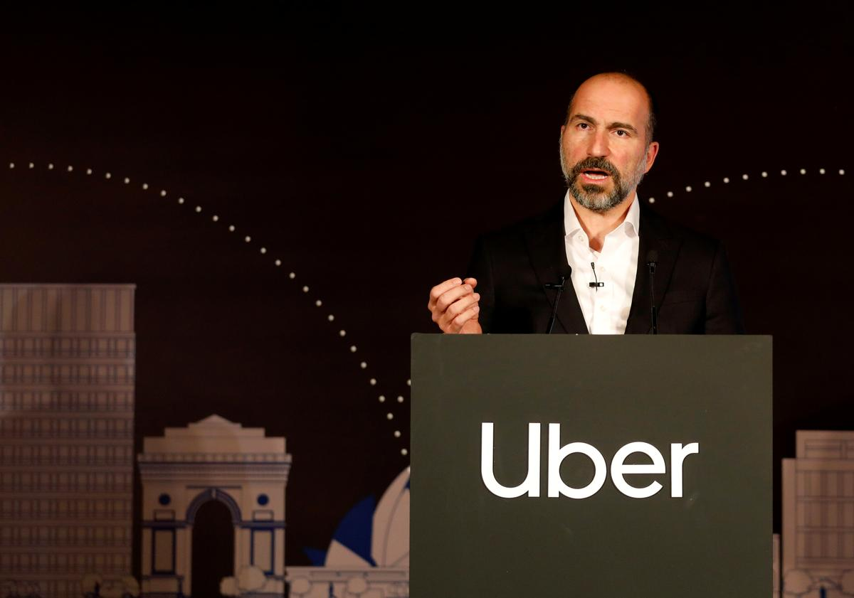 Uber CEO expects to ride developing market growth in next decade