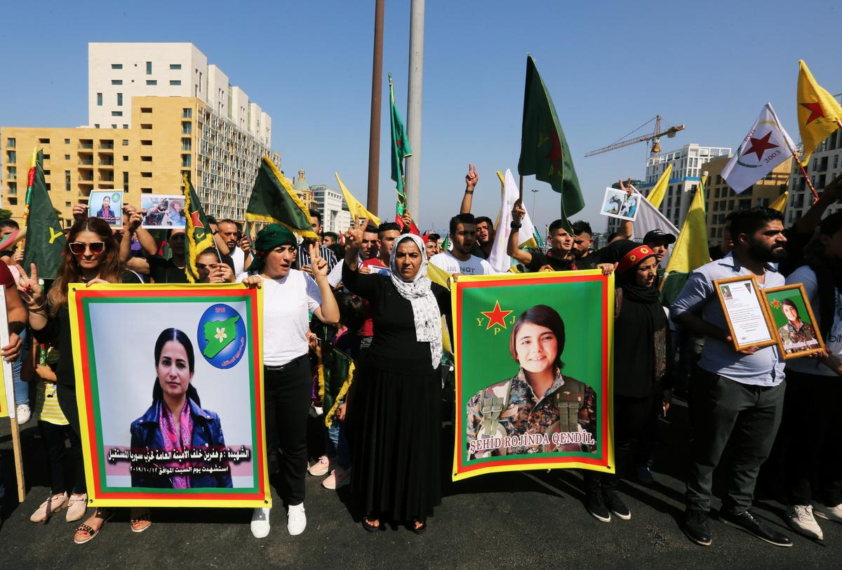 For Syrian Kurds, a leader's killing deepens sense of U.S. betrayal