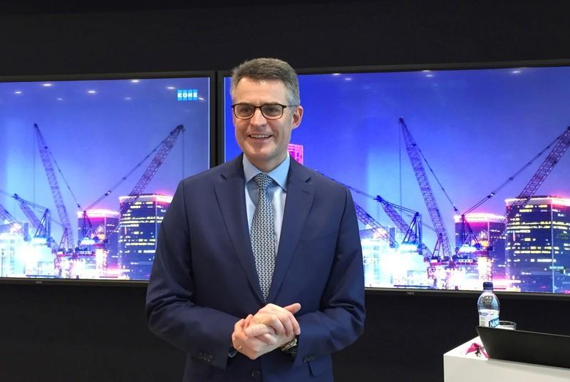 Kone CEO flags interest in buying Thyssenkrupp elevators