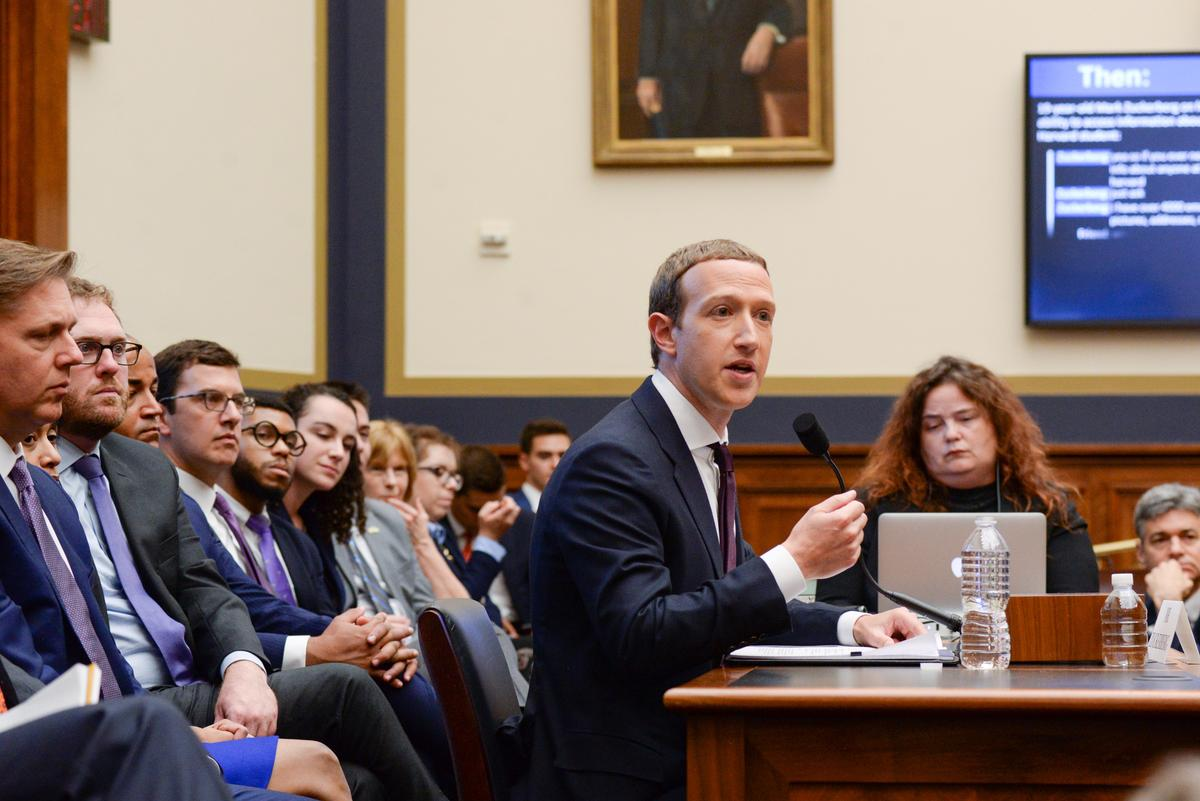 Facebook's Zuckerberg grilled in U.S. Congress on digital currency, privacy, elections