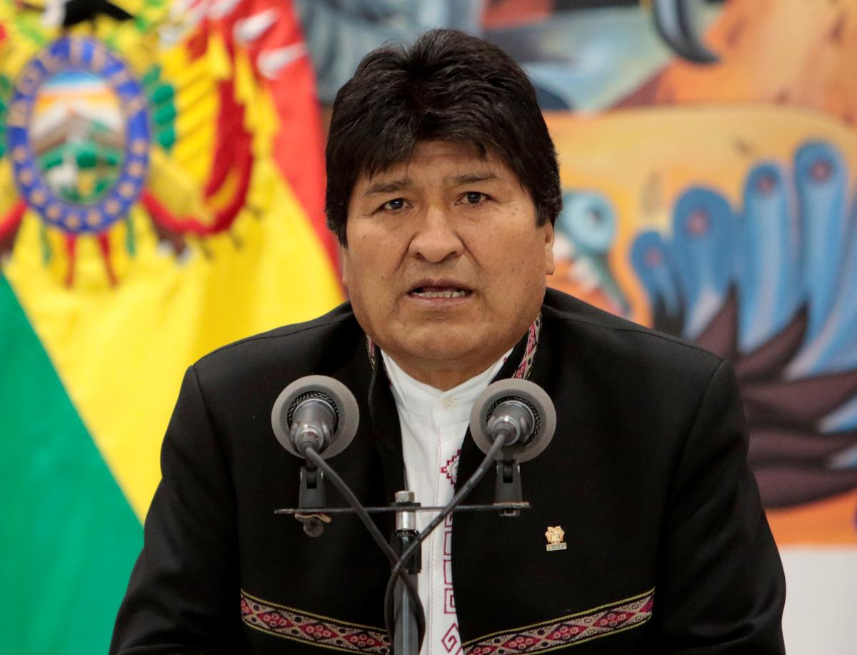 Bolivia's Morales takes 10-point lead in election count, would hand him outright win