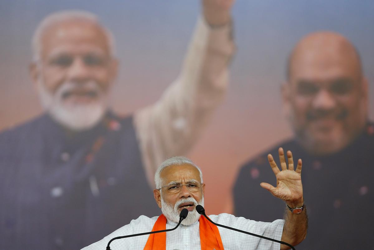 Modi's BJP leading in key state polls in India: TV