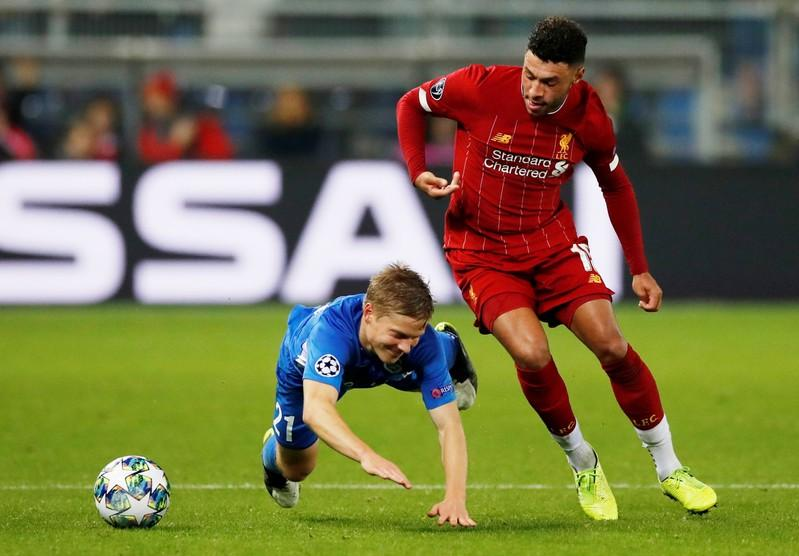 Image result for Inspired Oxlade-Chamberlain happy to fire for Liverpool in Europe