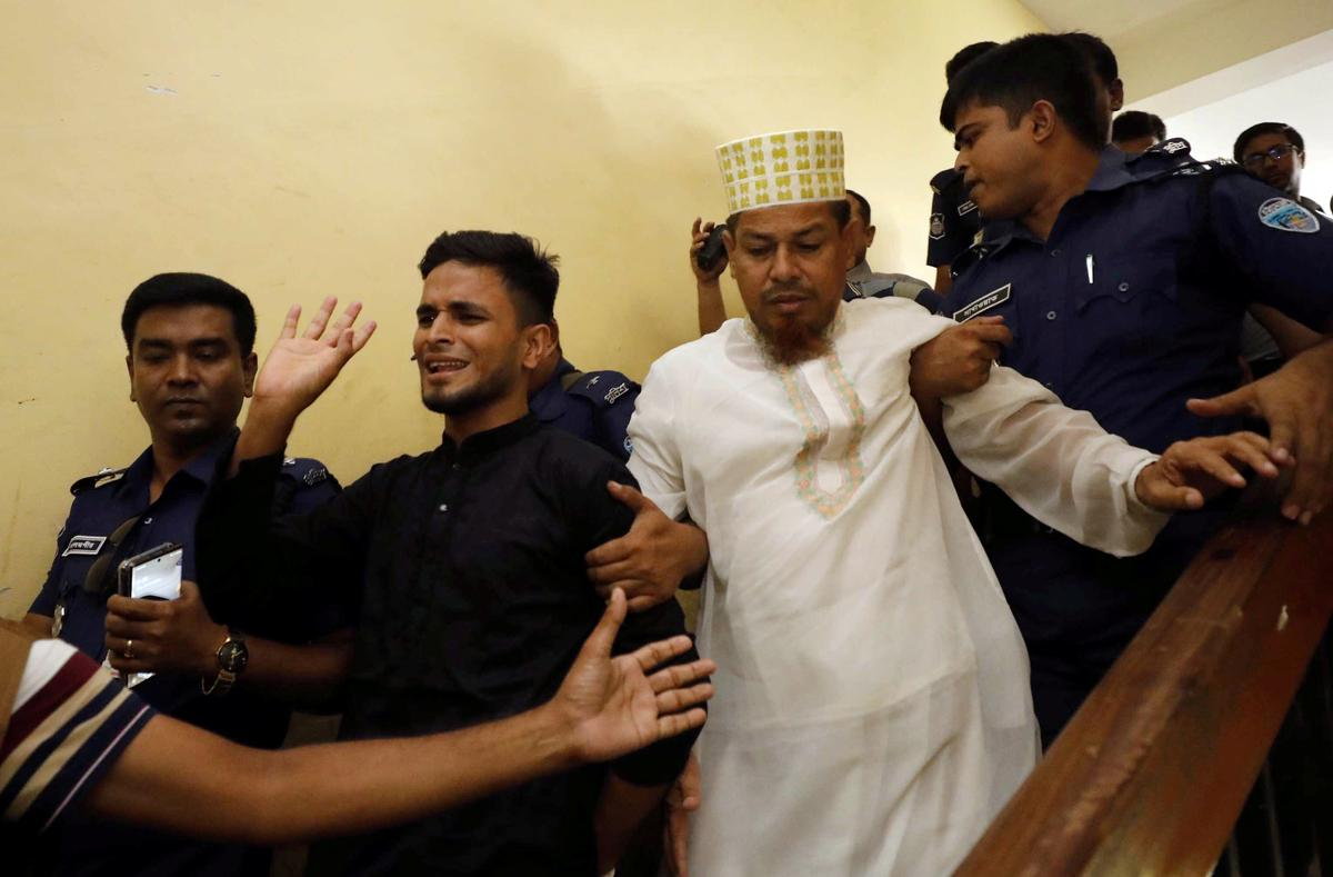 Bangladesh sentences 16 to death for killing teenager in harassment case