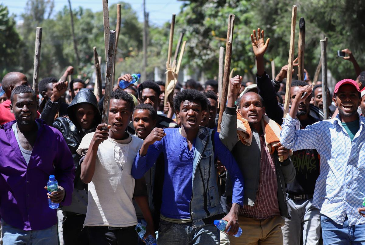 Ethiopia activist calls for calm after 16 killed in clashes