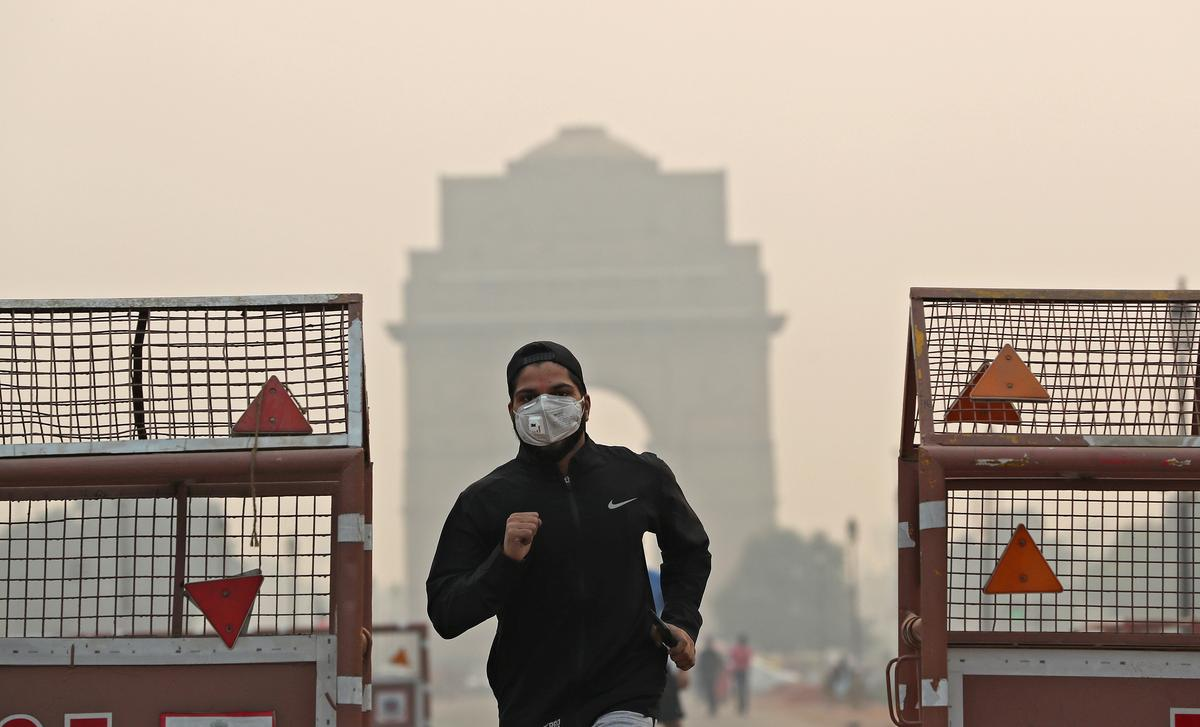 Diwali fireworks haze pushes New Delhi's air quality to severe