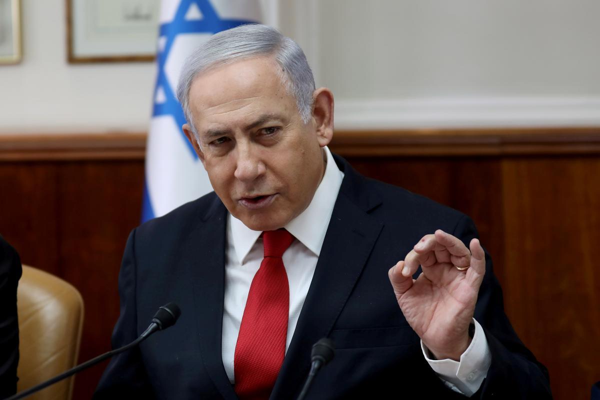 Netanyahu says Iran seeking means to attack Israel from Yemen
