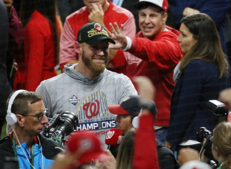 Nationals pitcher Strasburg named World Series MVP