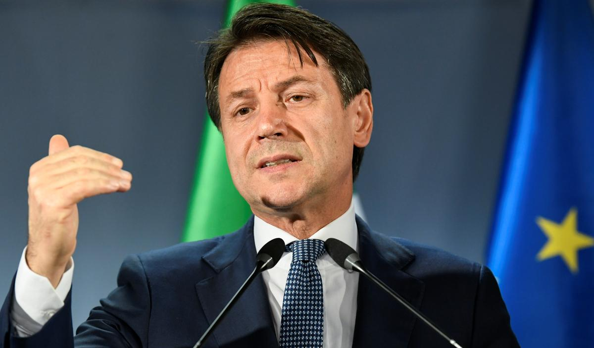 Conte says crucial to keep jobs, plants in Italy in FCA-PSA deal