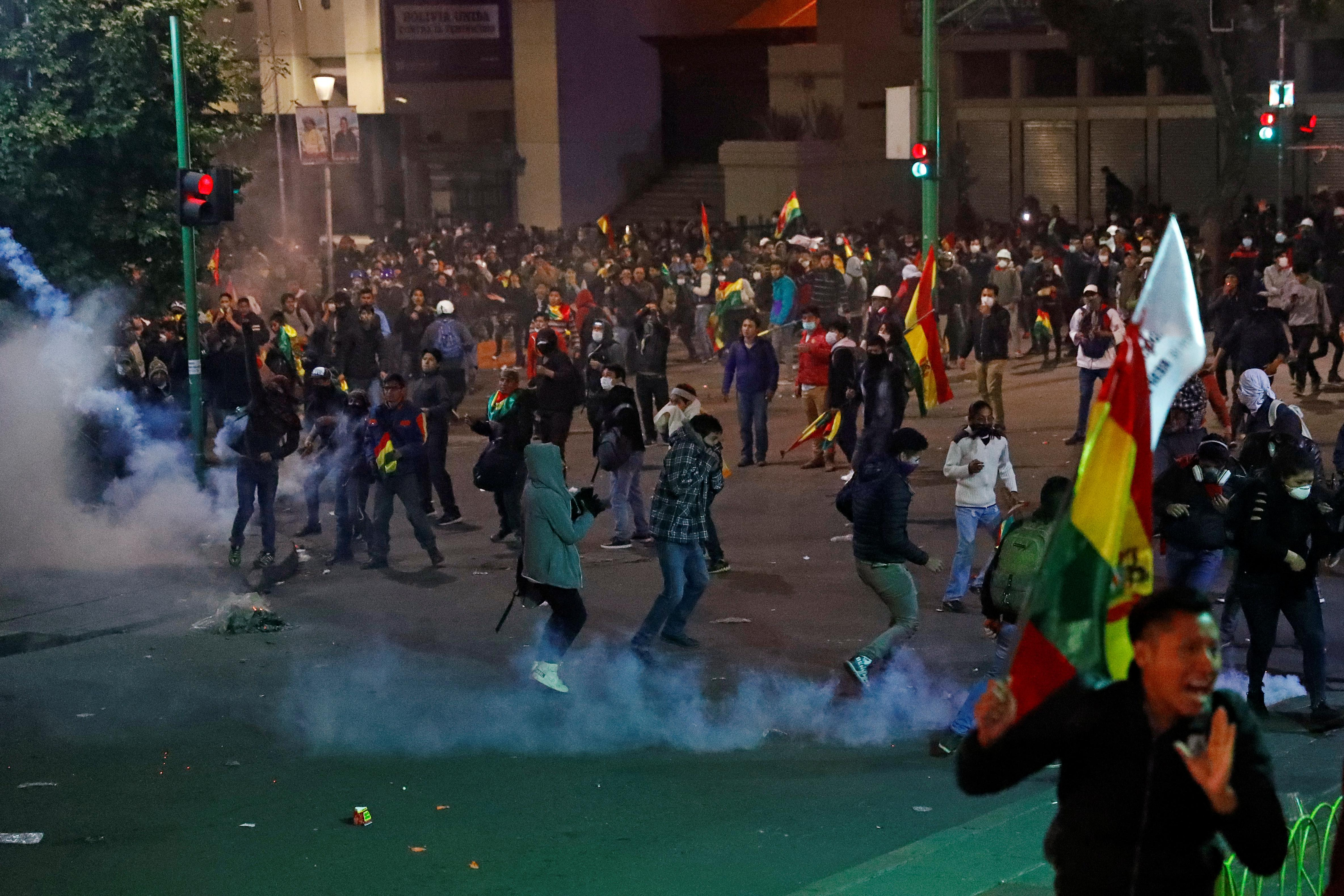 Bolivia election audit ready to start after street clashes turn deadly