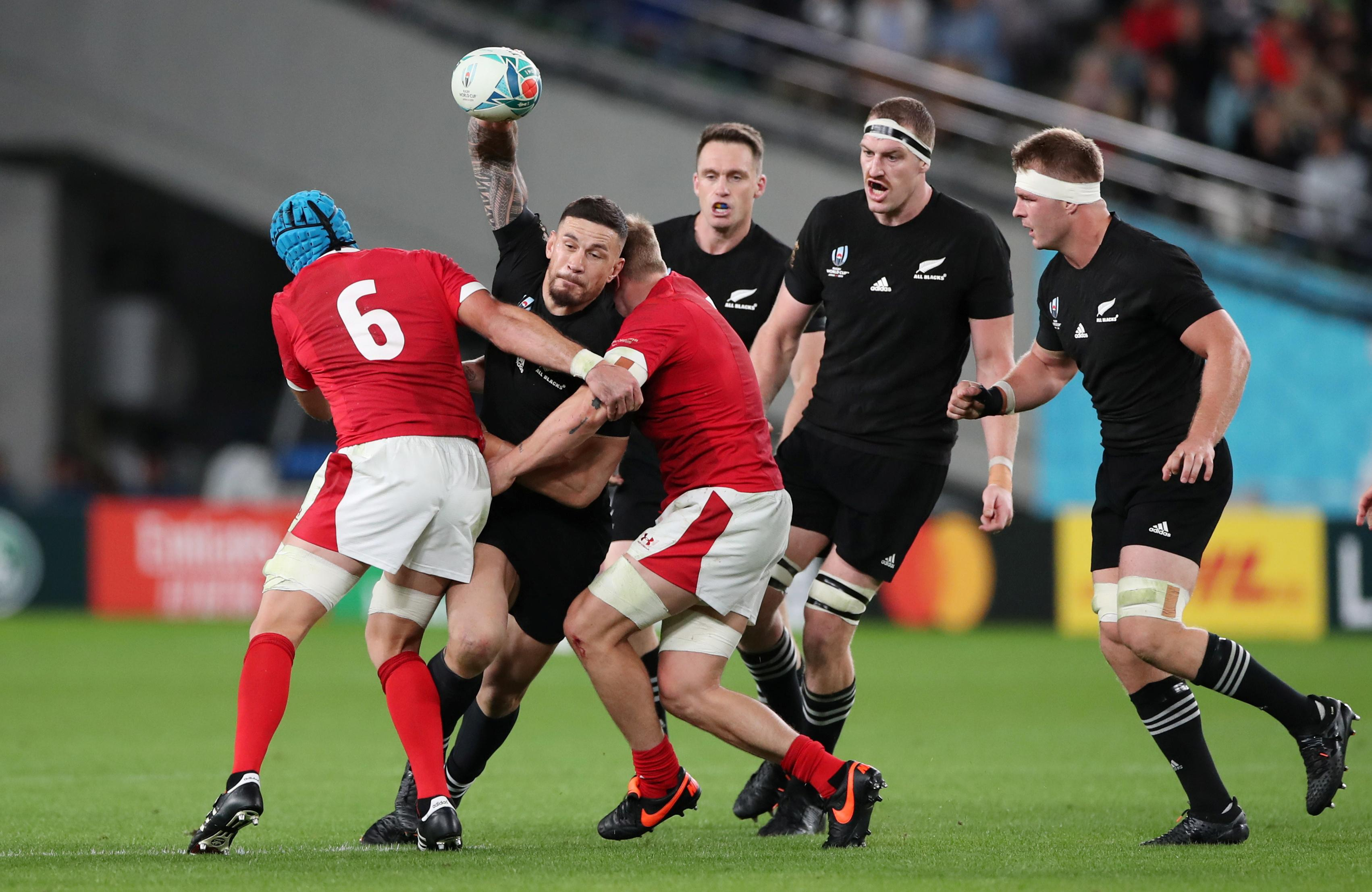 New Zealand take third place with six-try win over Wales