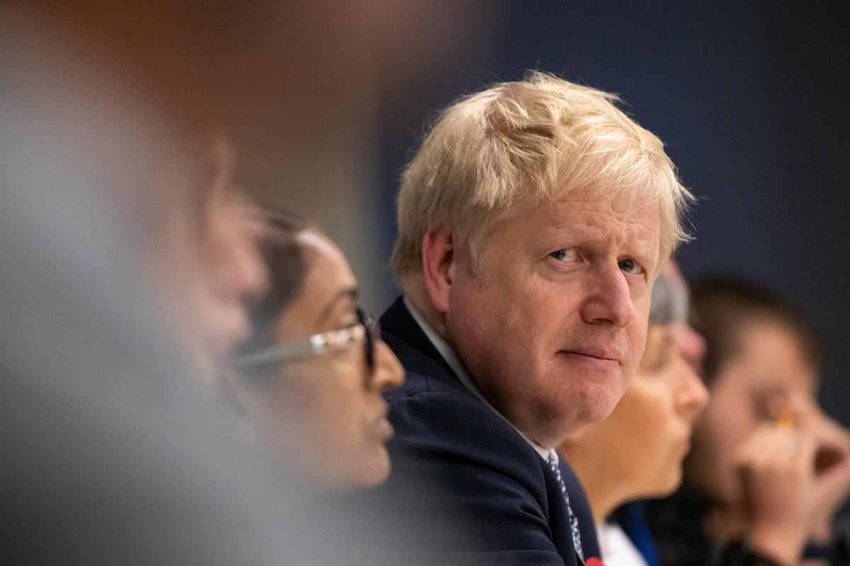 UK PM Johnson rejects calls for no-deal Brexit in election pitch