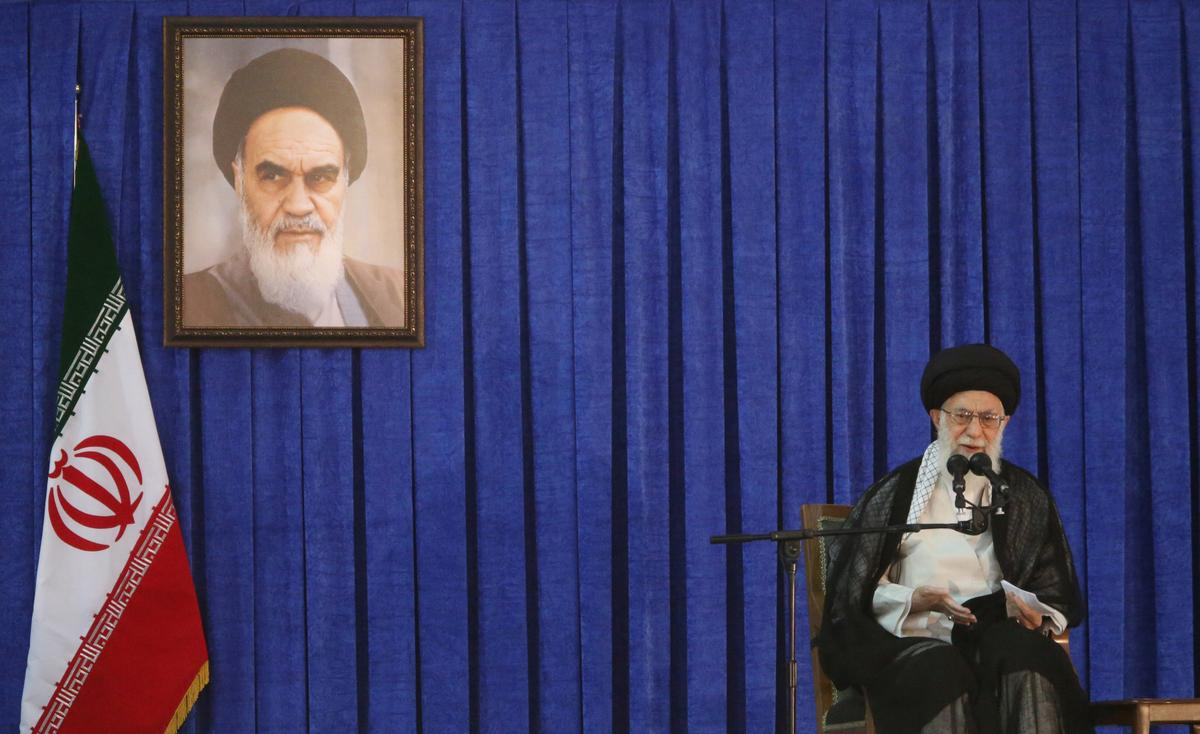 Iran's Khamenei renews ban on talks with U.S.