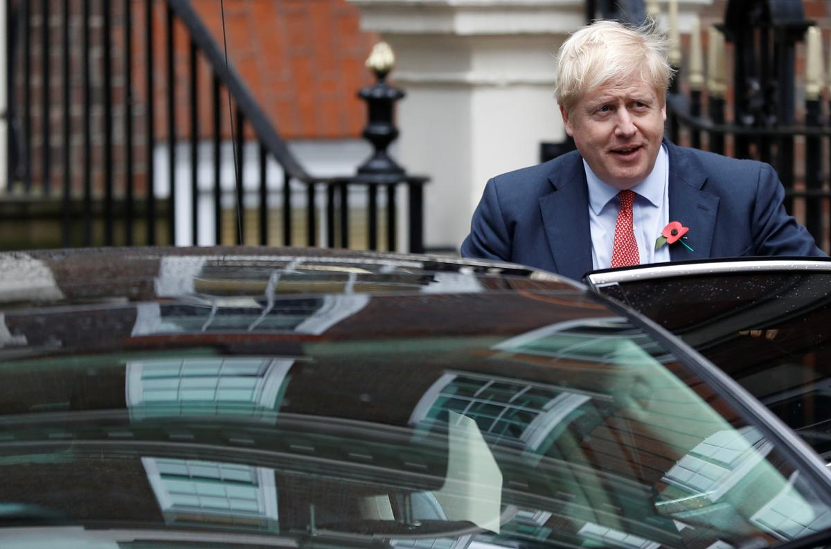UK PM Johnson's Conservatives have 7-point lead over Labour: ICM