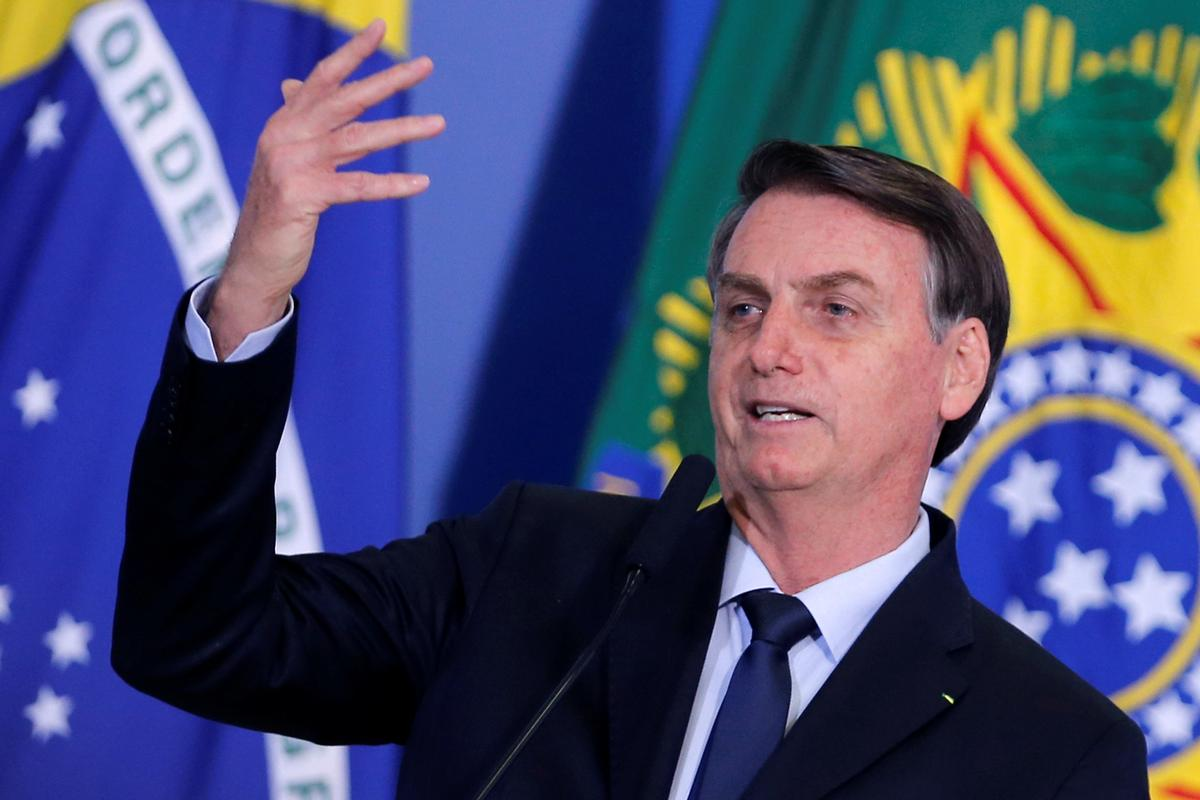 Brazil's Bolsonaro pushes new reforms in skeptical Congress