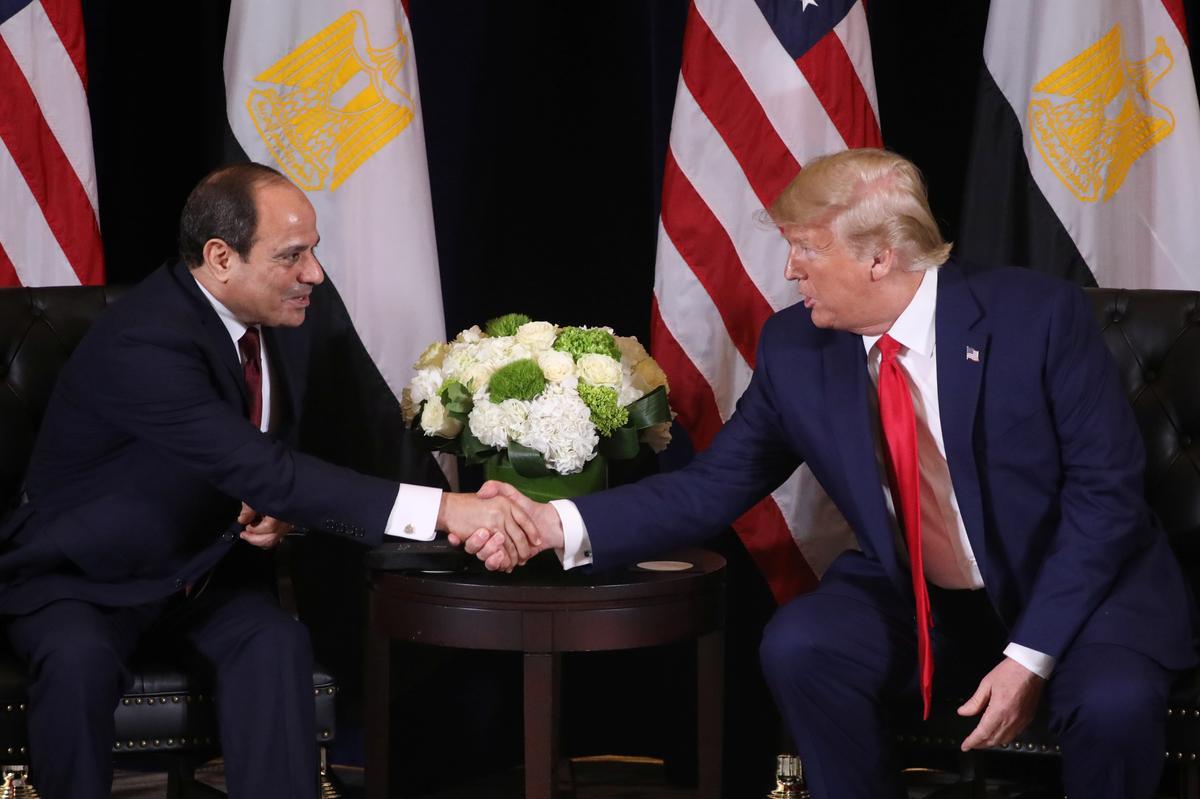 Trump speaks with Egypt's Sisi, backs talks on disputed Ethiopia dam