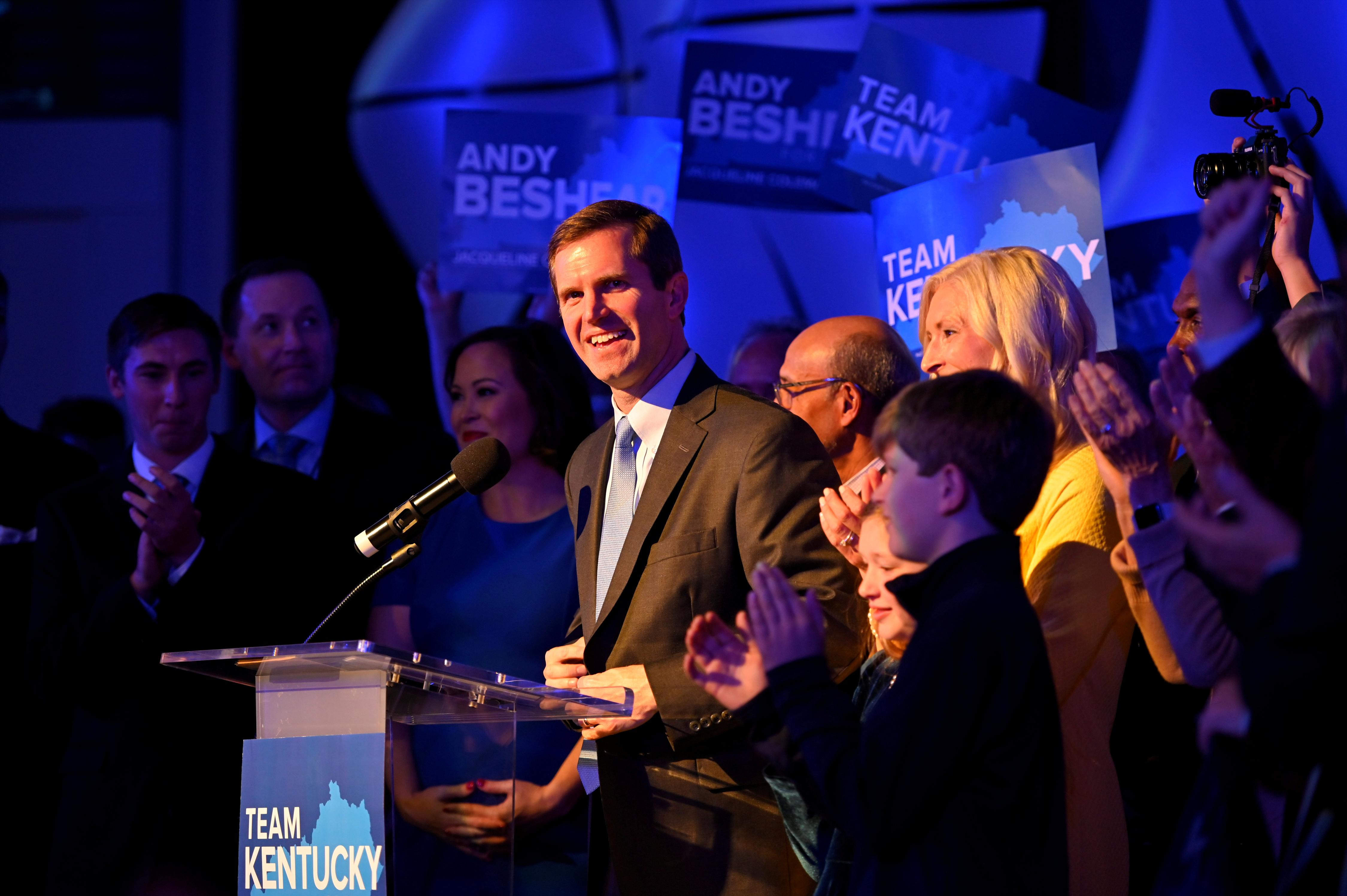 Democrats claim victory over Trump-backed Kentucky governor, seize...