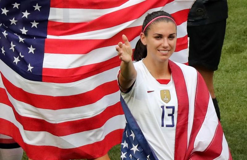 Usa Soccer Team World Cup 2020.Morgan Plans To Play In 2020 Olympics Despite Pregnancy