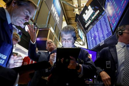 US STOCKS-Wall St gains as China, US agree to remove tariffs in phases