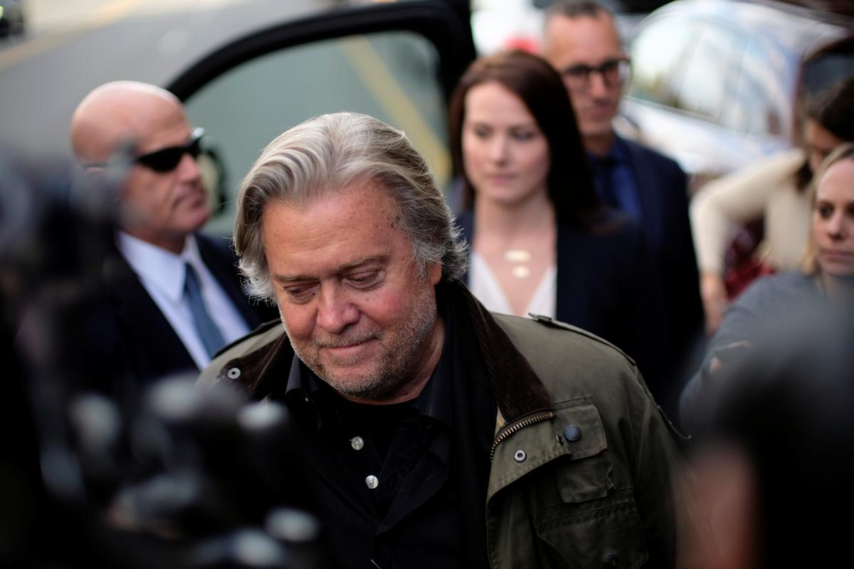Bannon delivers damaging testimony in trial of longtime Trump adviser Stone