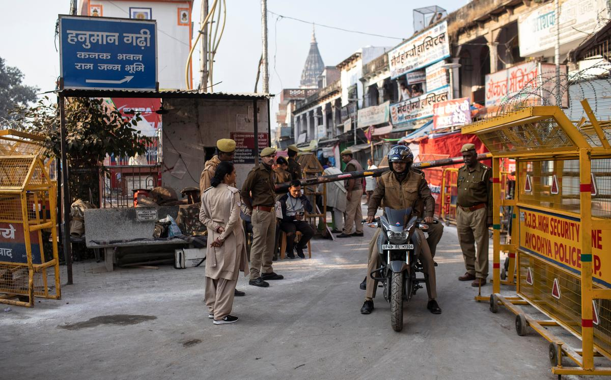 India detains users over inflammatory online posts after religious site ruling