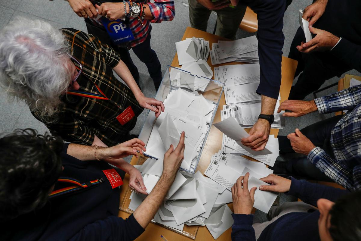 Các nhà xã hội dẫn đầu trong cuộc bầu cử Tây Ban Nha, nhưng không có người chiến thắng rõ ràng: thăm dò ý kiến