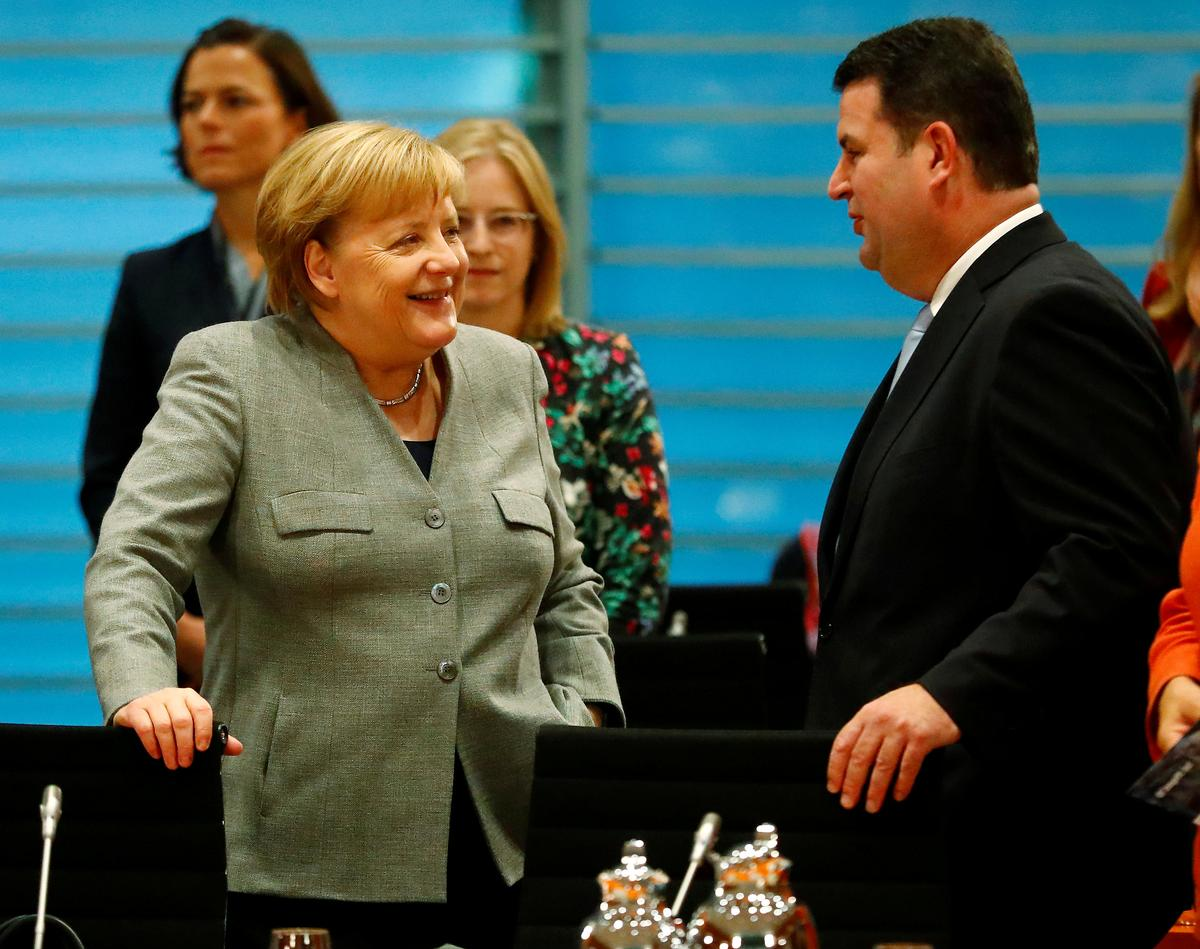 German pensions deal shows coalition is working: ruling parties