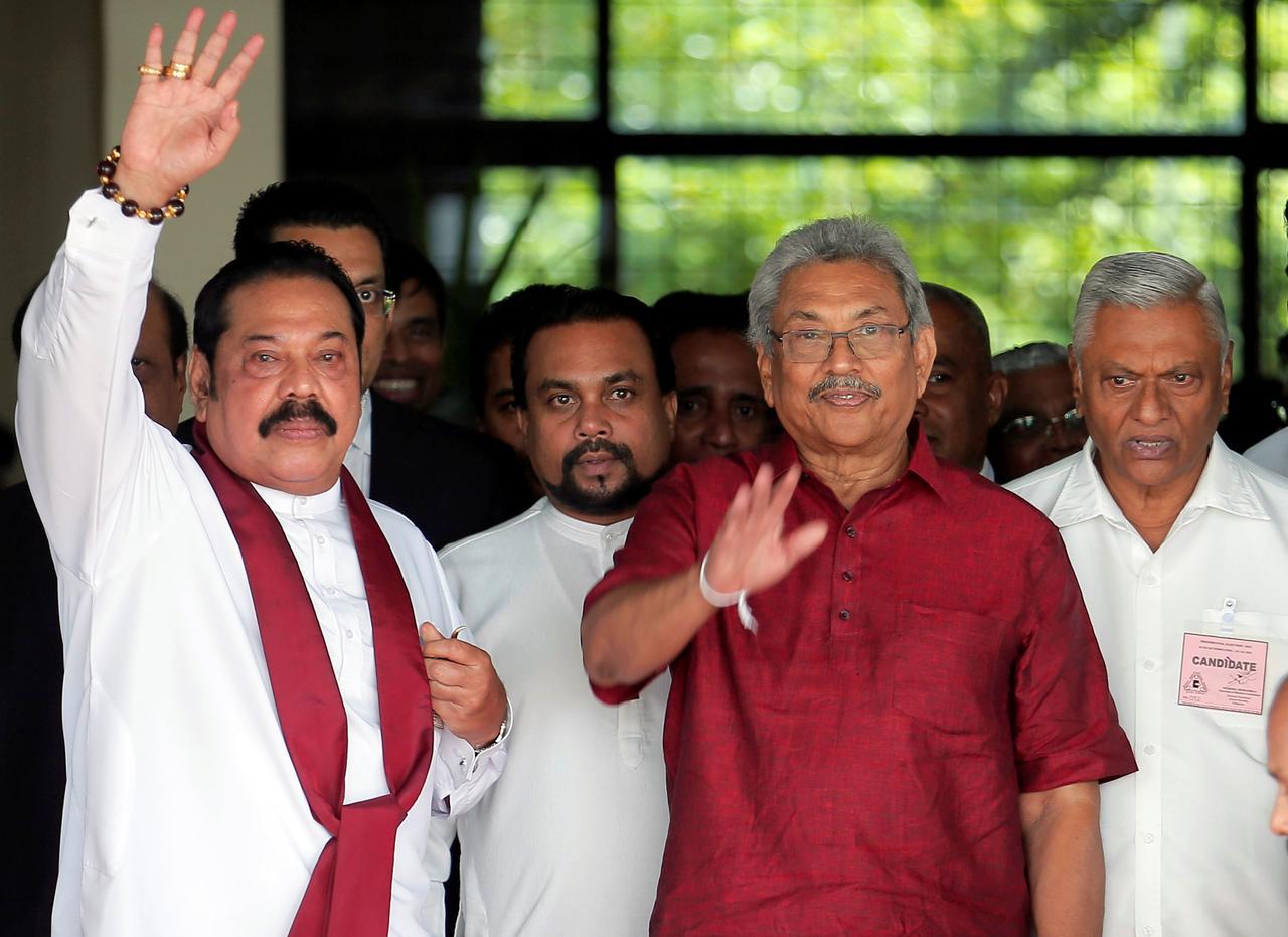Image result for After hiatus, Rajapaksa brothers set to dominate Sri Lanka again