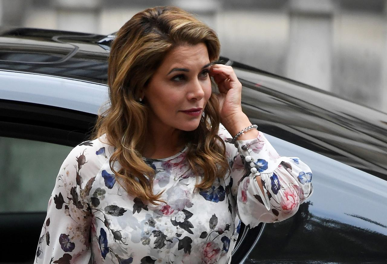 Image result for Princess Haya in court for London hearing in legal battle with Dubai's ruler