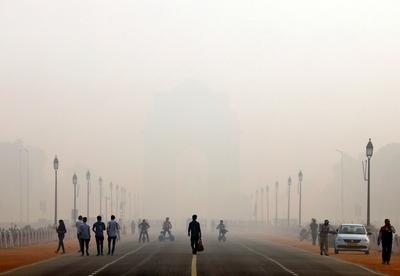 Delhi trapped in a toxic smog