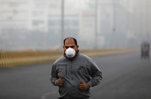 India's capital breathes toxic air
