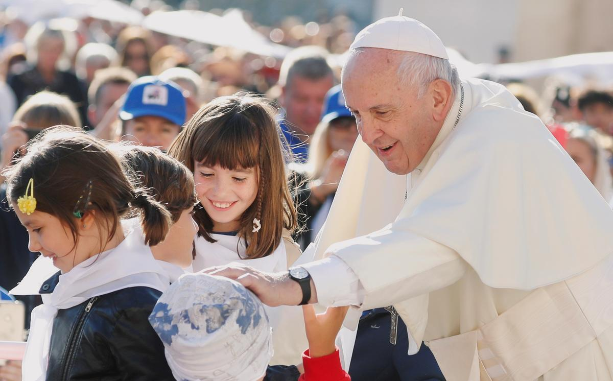 Pope tells tech companies they are responsible for child safety