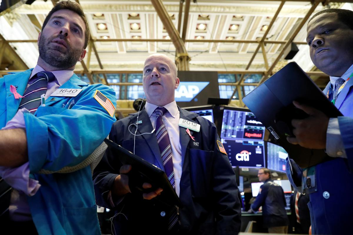 Stocks, yields slip as investor sentiment wavers