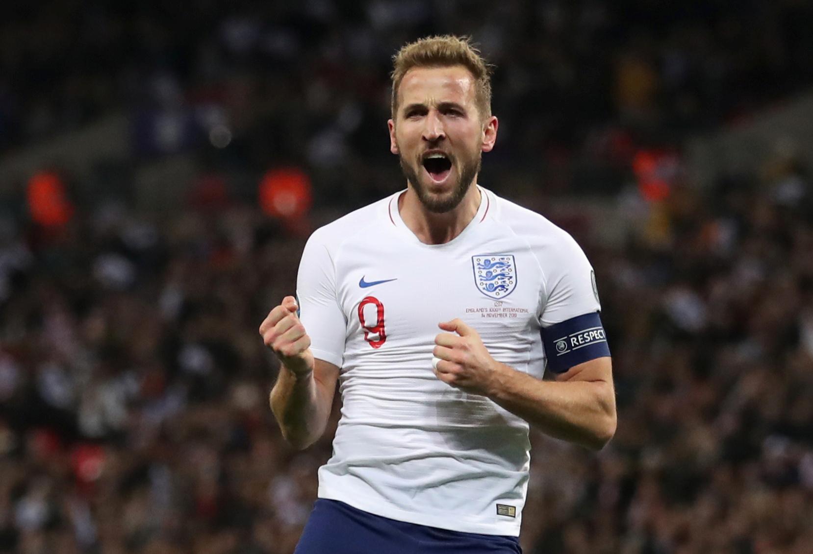 Kane treble as England demolish Montenegro to book Euro 2020 spot