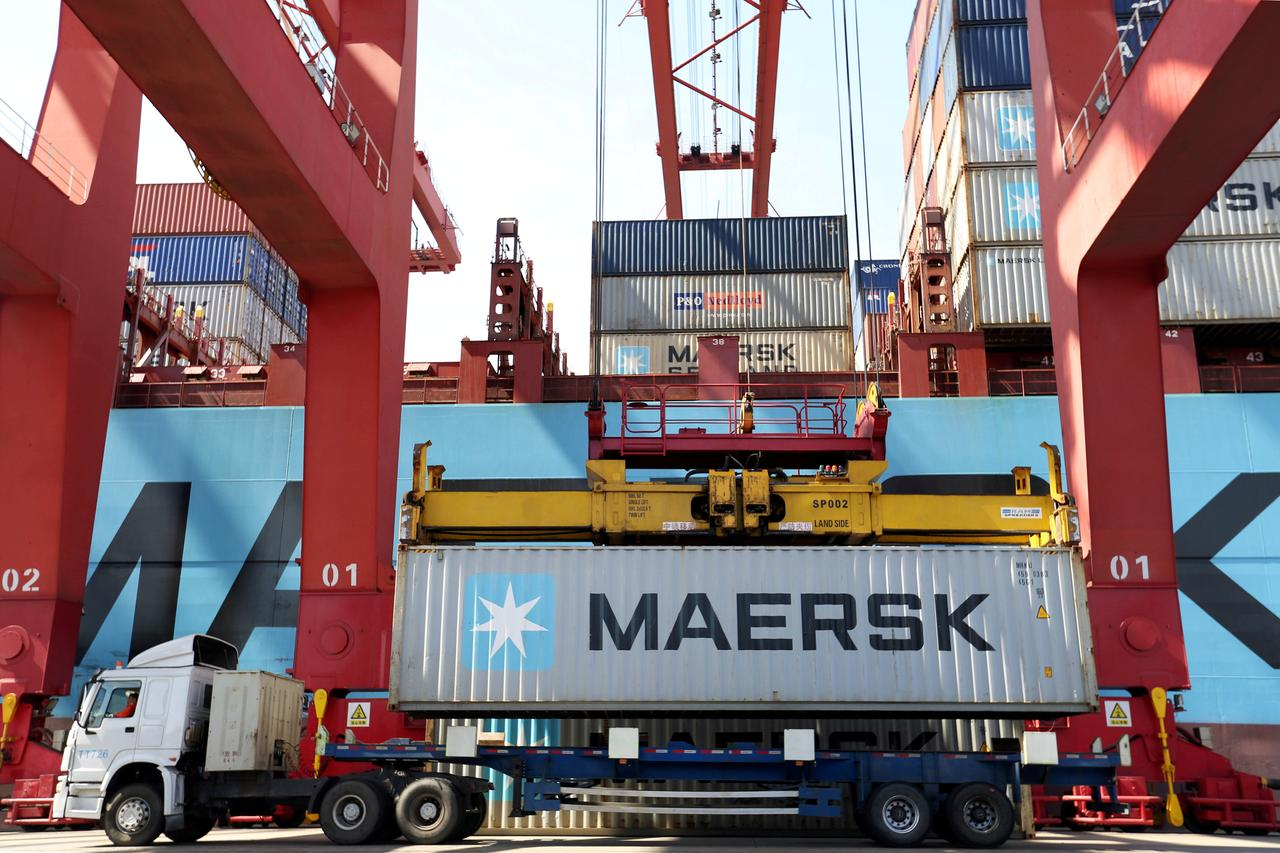 Image result for Maersk keeps down costs with uncertain container traffic outlook