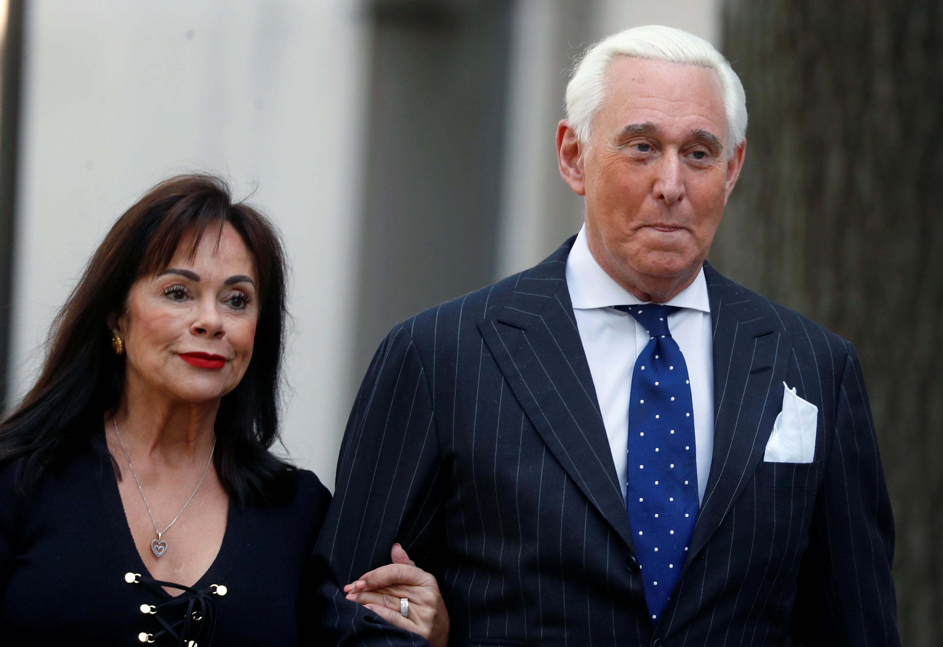 Trump adviser Roger Stone, self-proclaimed 'dirty trickster,'...