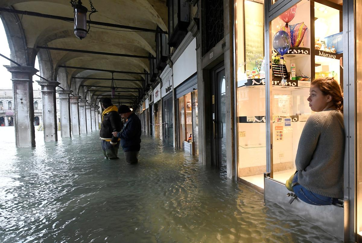 Climate change, human activity rub salt into Venice's wounds