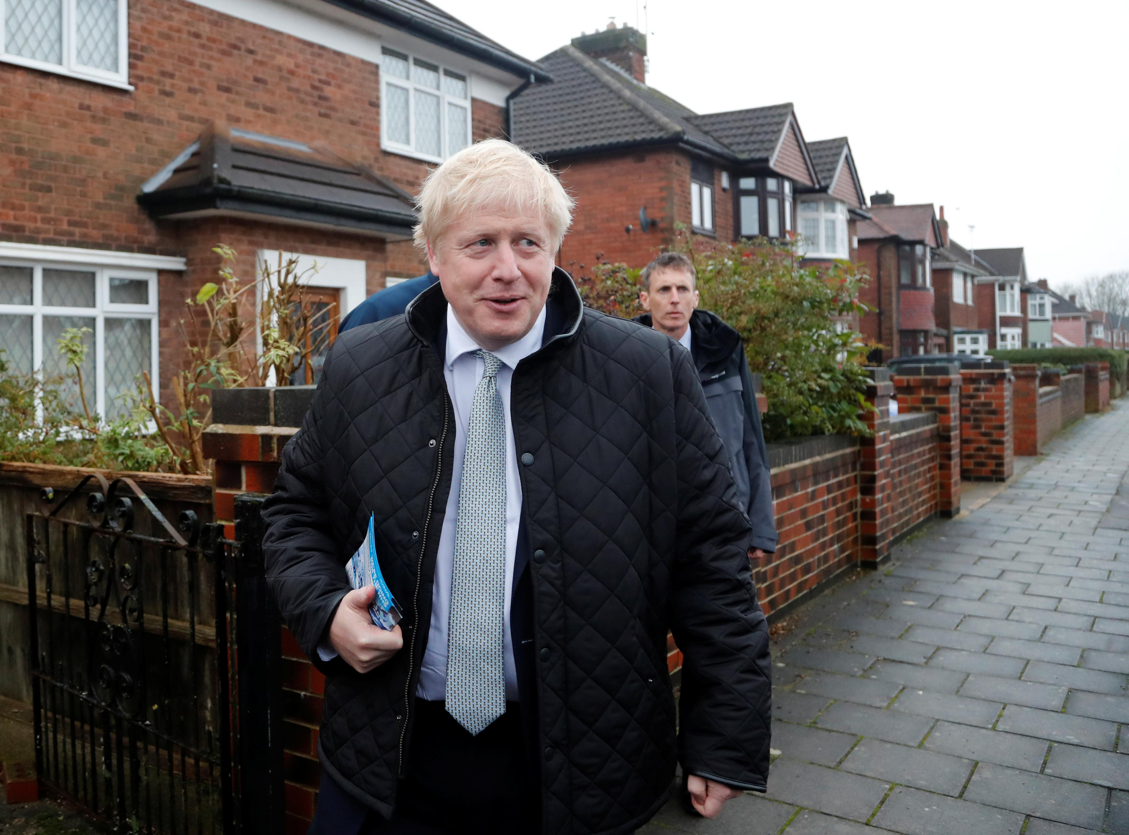 PM Johnson's Conservatives have highest support since 2017 - polls