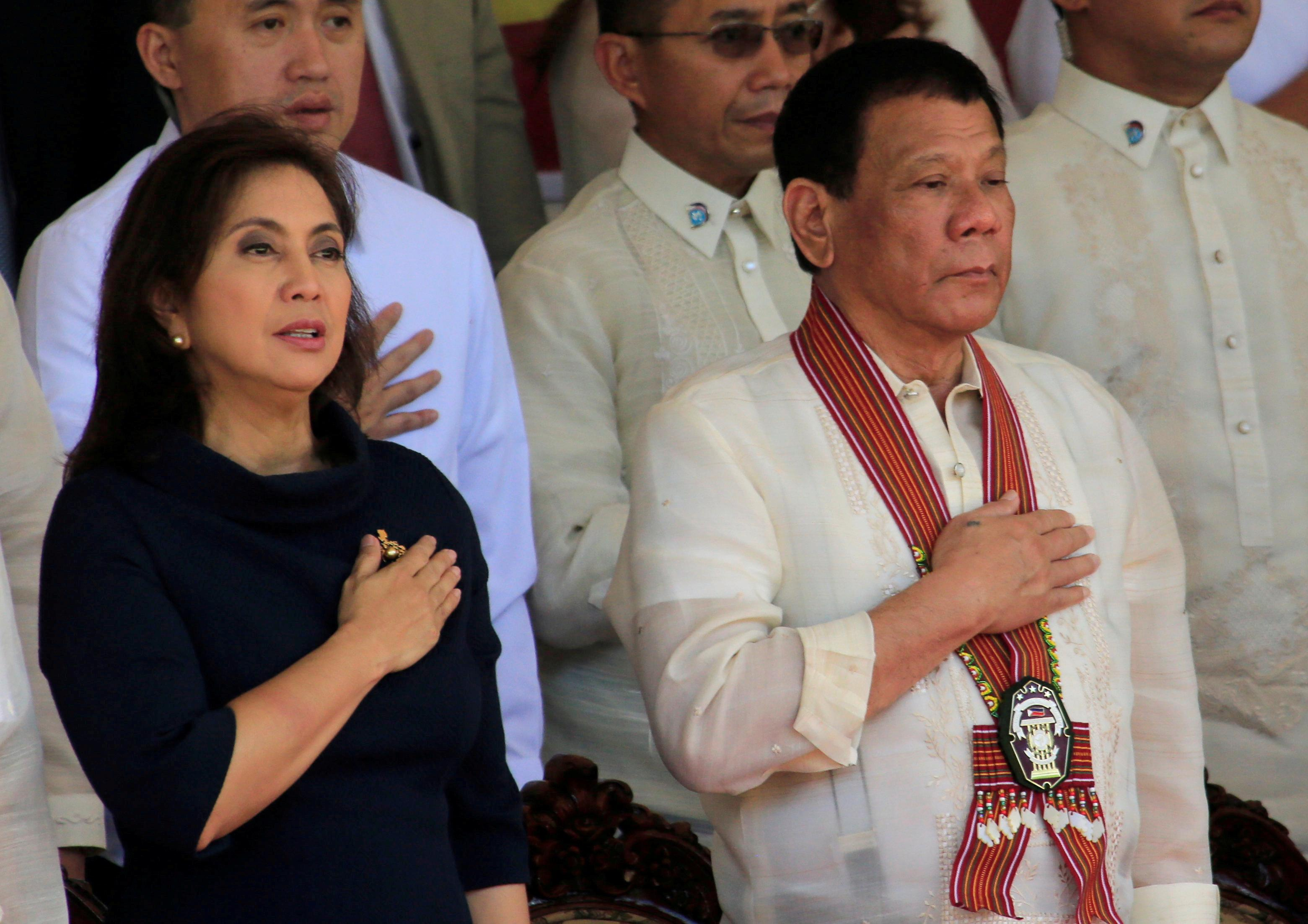 Philippines' Duterte to VP: keep state secrets or lose your 'drugs...