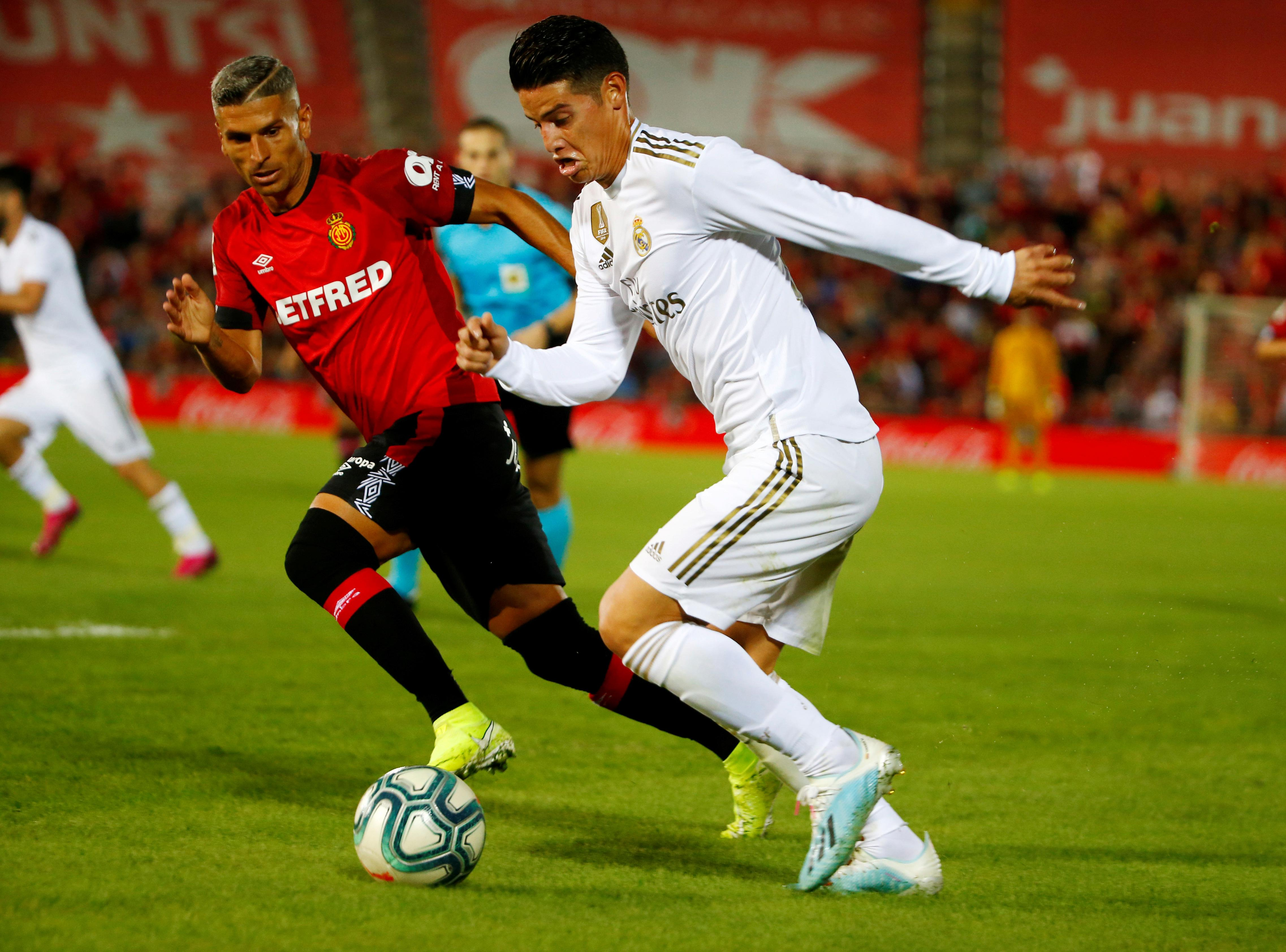 Real Madrid's Rodriguez set for spell out with knee injury