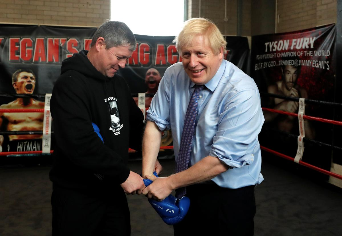 ON THE CAMPAIGN TRAIL: UK PM Johnson's 'therapeutic' debate prep