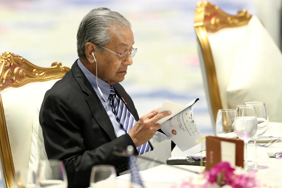 Malaysia's Mahathir says cabinet reshuffle on cards after by-election loss