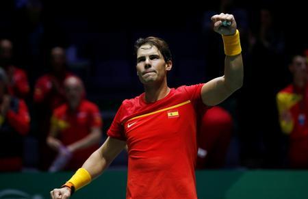 Spain, Australia cruise into Davis Cup last eight