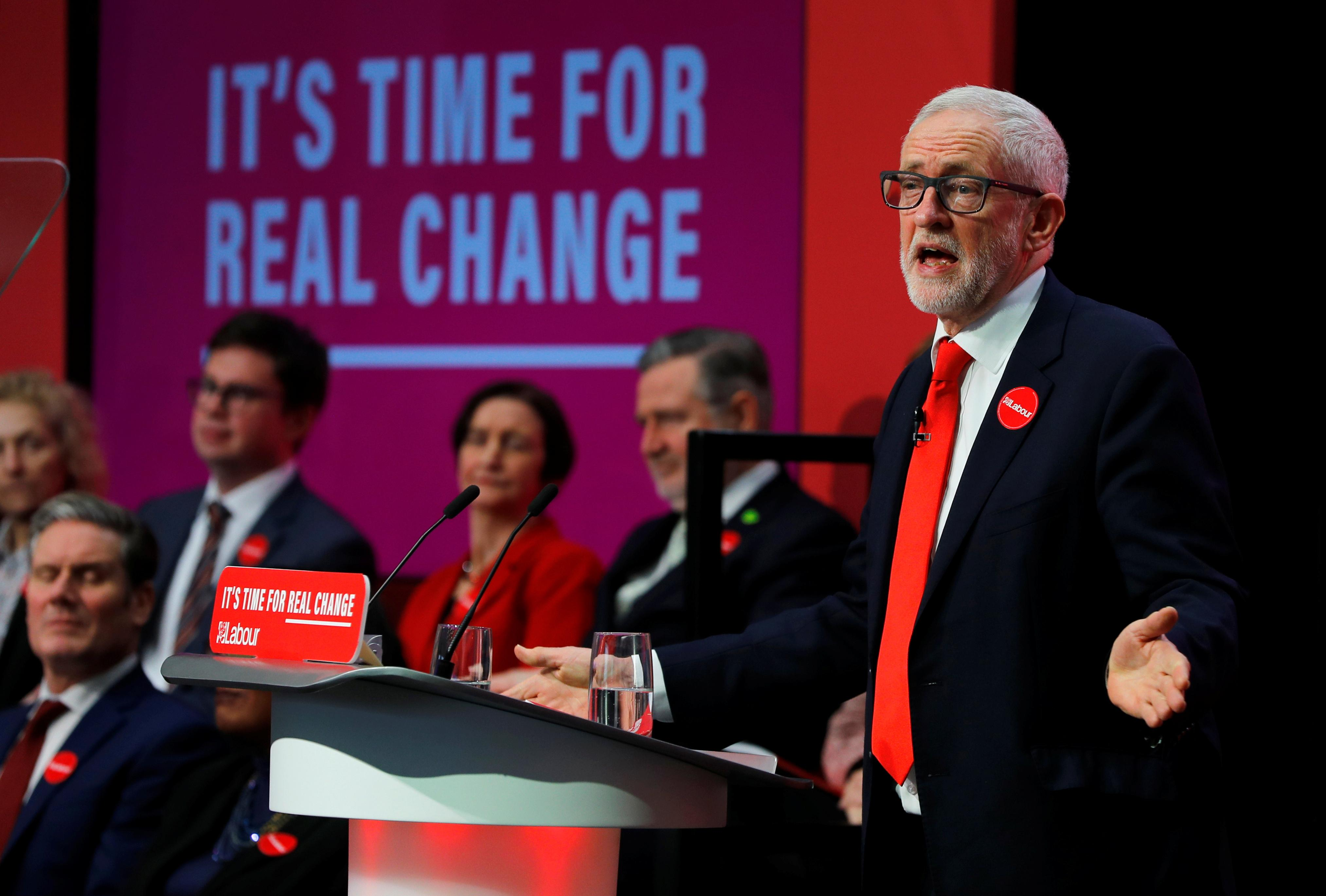 Labour unveils 'radical and ambitious' plan to remake Britain