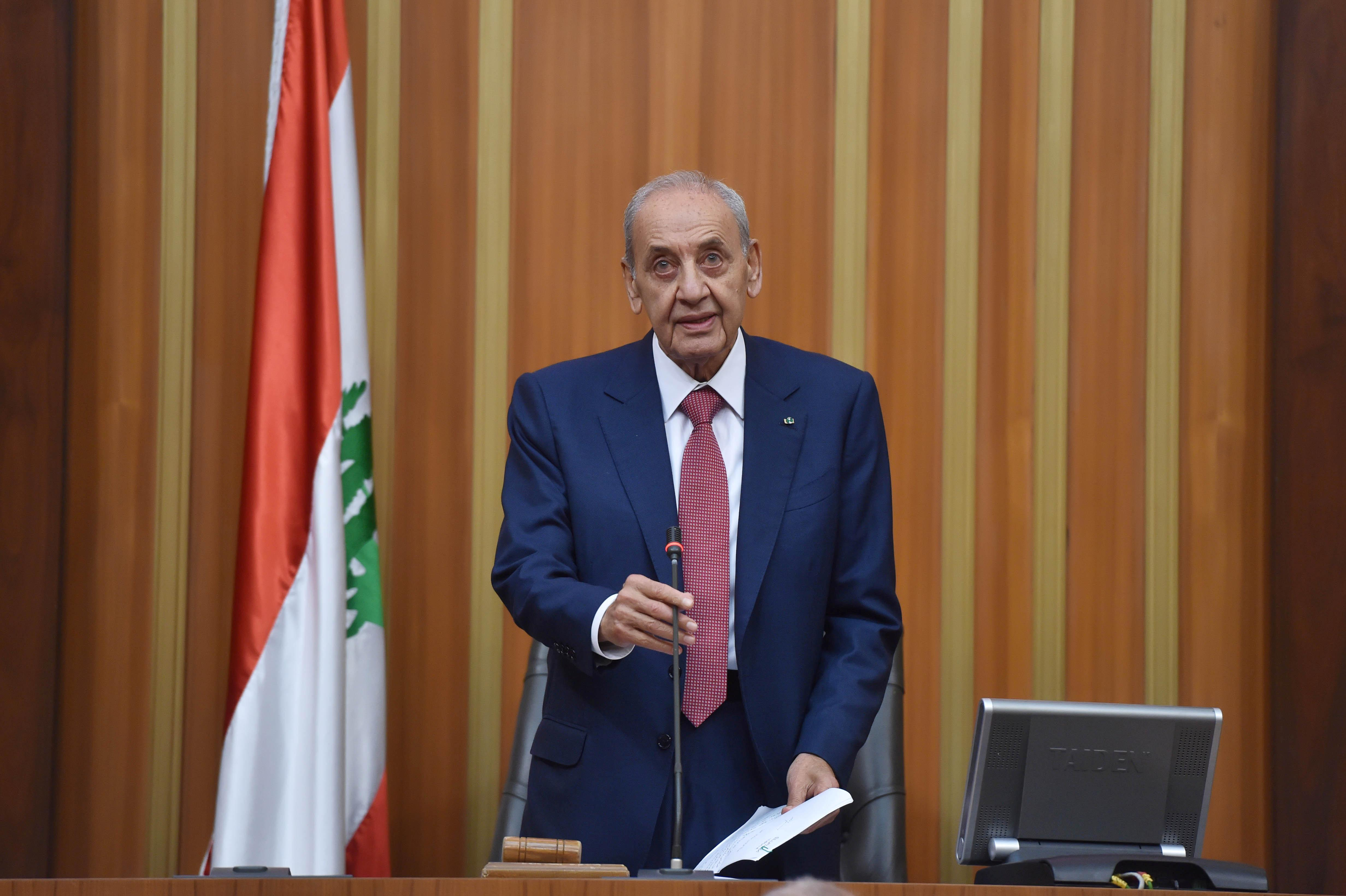 Lebanon parliament speaker calls session following cancellation