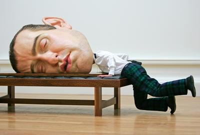 The hyperrealist visions of sculptor Ron Mueck