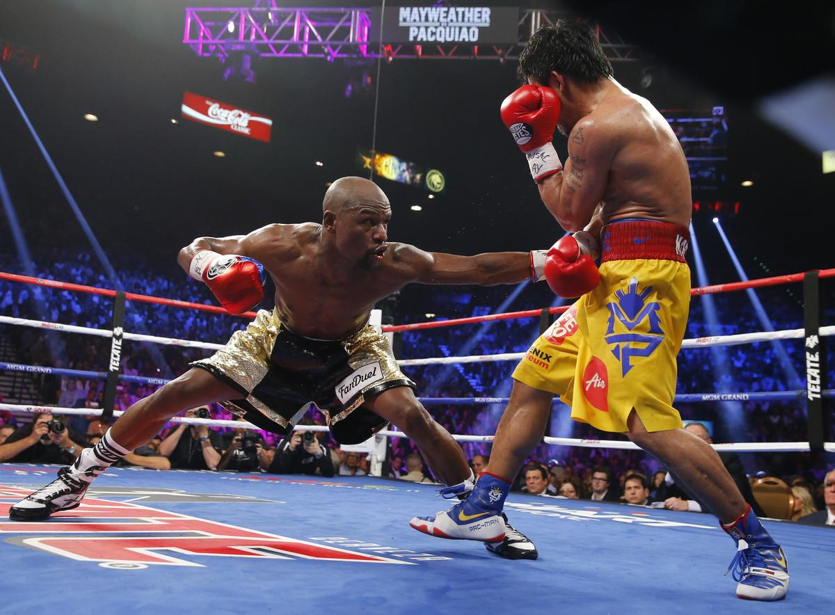 Unhappy fans cannot sue over Mayweather-Pacquiao fight: U.S. court