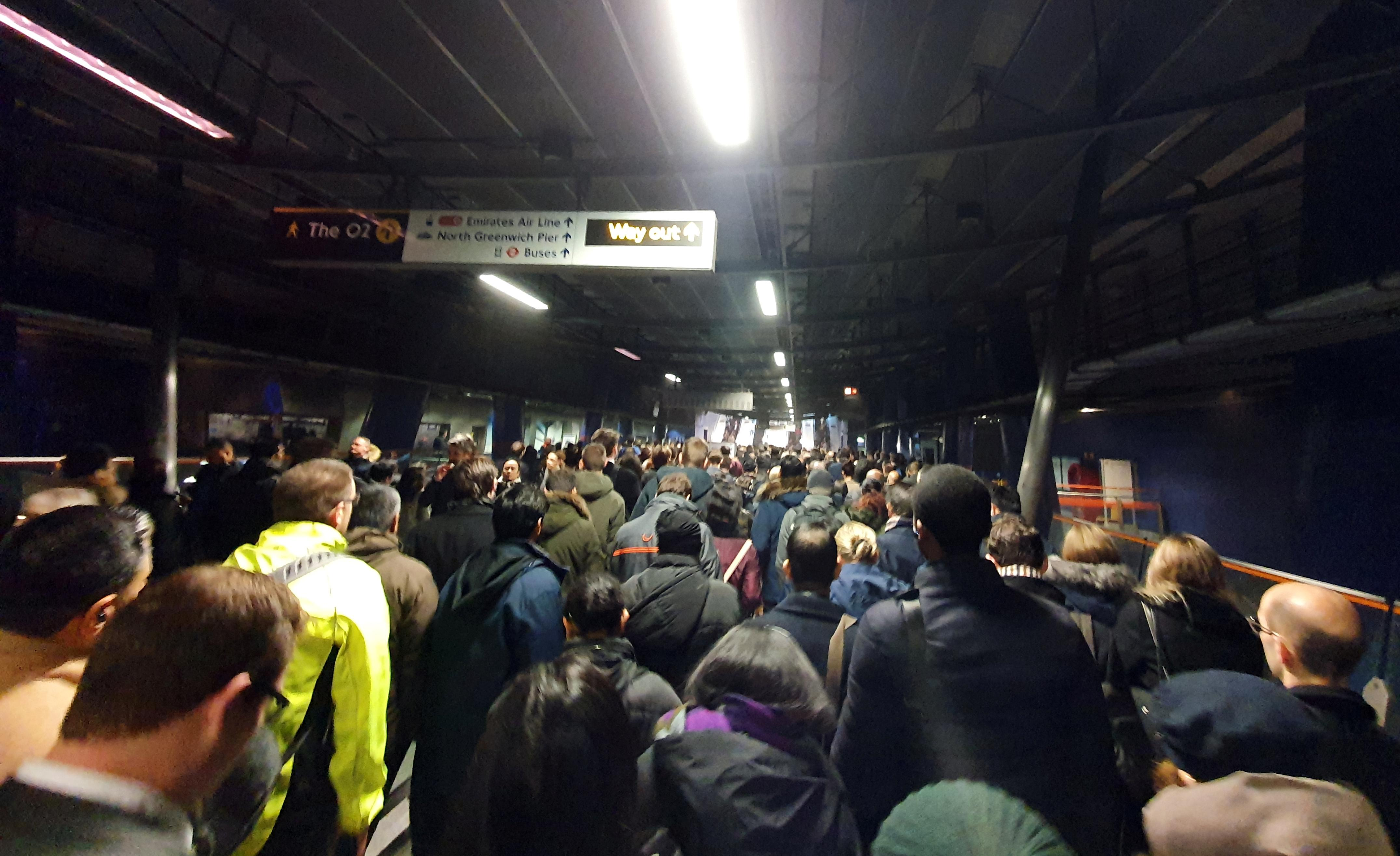 London's Canary Wharf underground station reopens after dust incident