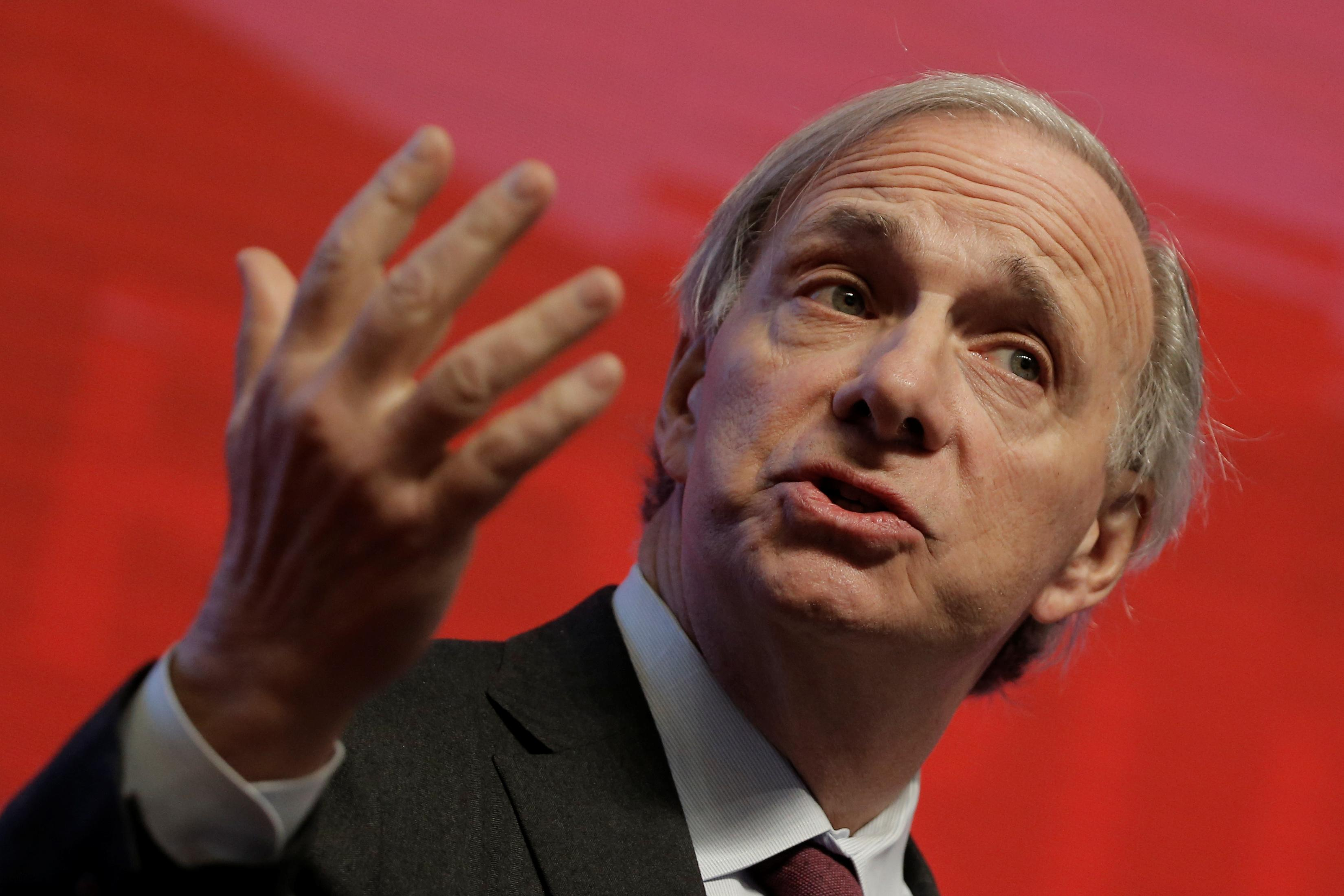 Ray Dalio denies report hedge fund Bridgewater has bearish bet on...