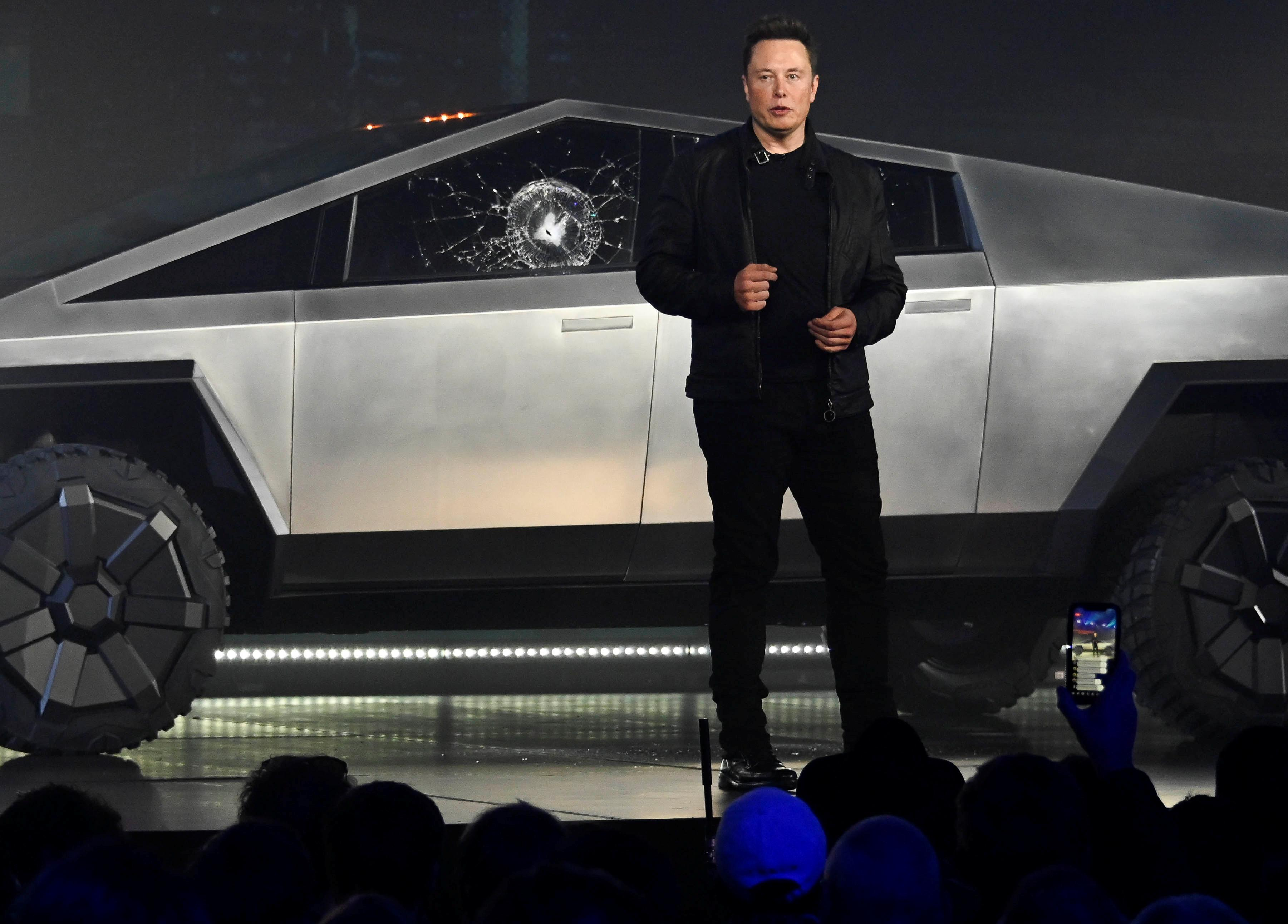 Shattered glass: Futuristic design questioned after Tesla...